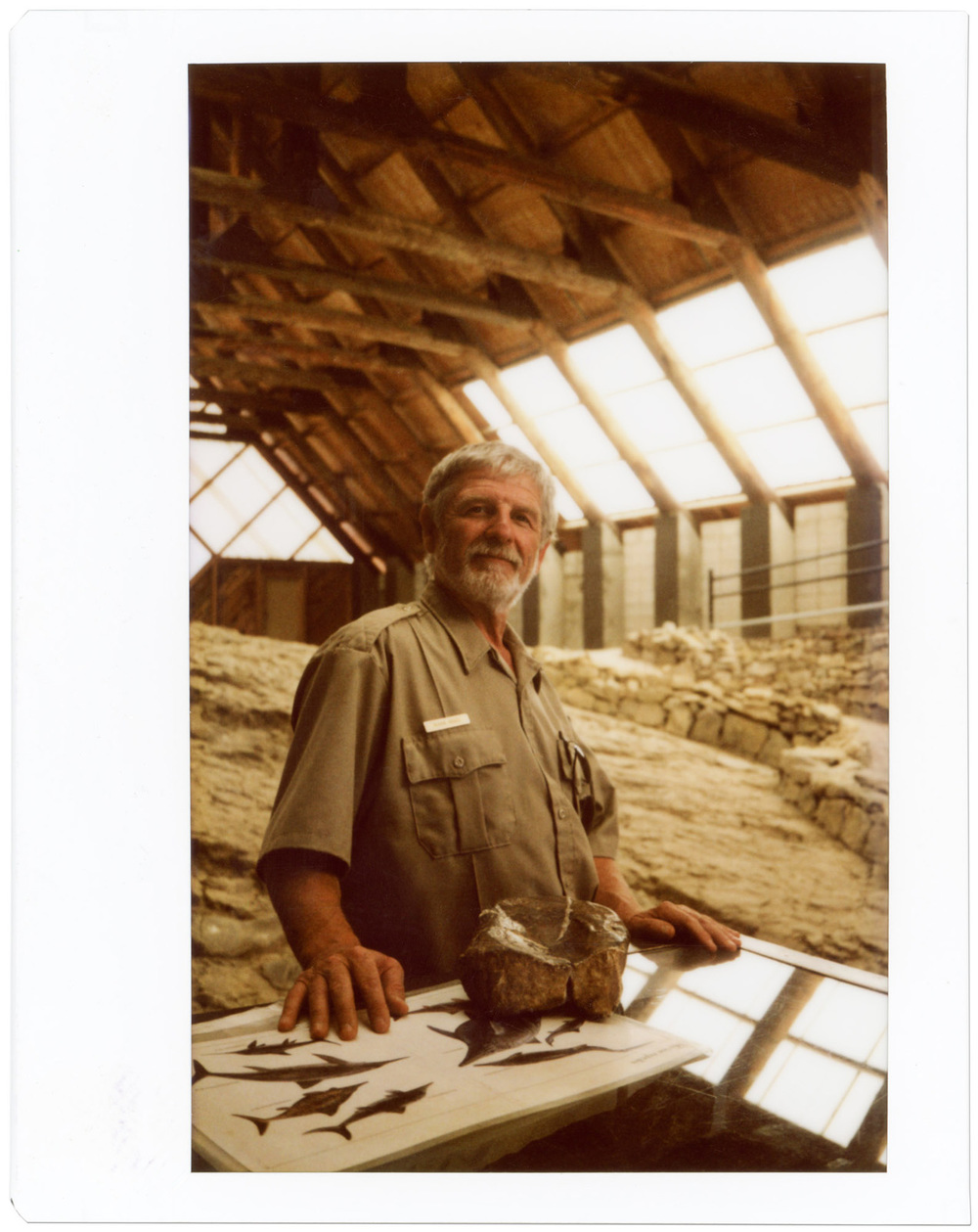 Ranger Robin Riggs, Berlin-Ichthyosaur State Park, Nevada
