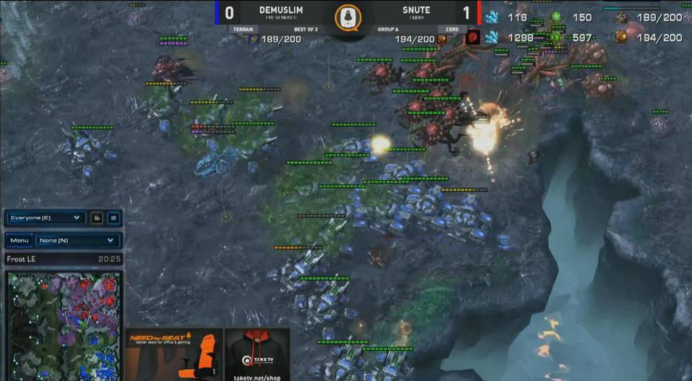 SeatStory Cup Day 1 – StarCraft II Review