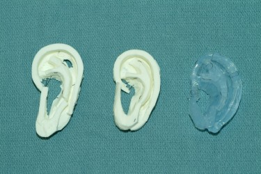 Silicone Ear prints (Photo Credit: University of Washington)