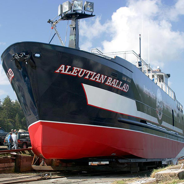 The   Aleutian Ballad  , the ship on which   Commercial Fishing Adventures   conducts its tours.