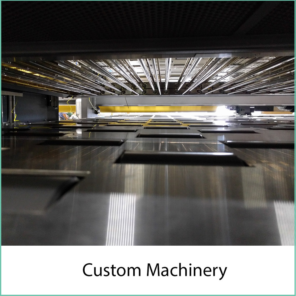 custom machinery design engineering