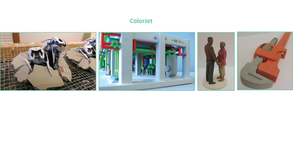 full color 3d printing colorjet gypsum zprinter 650