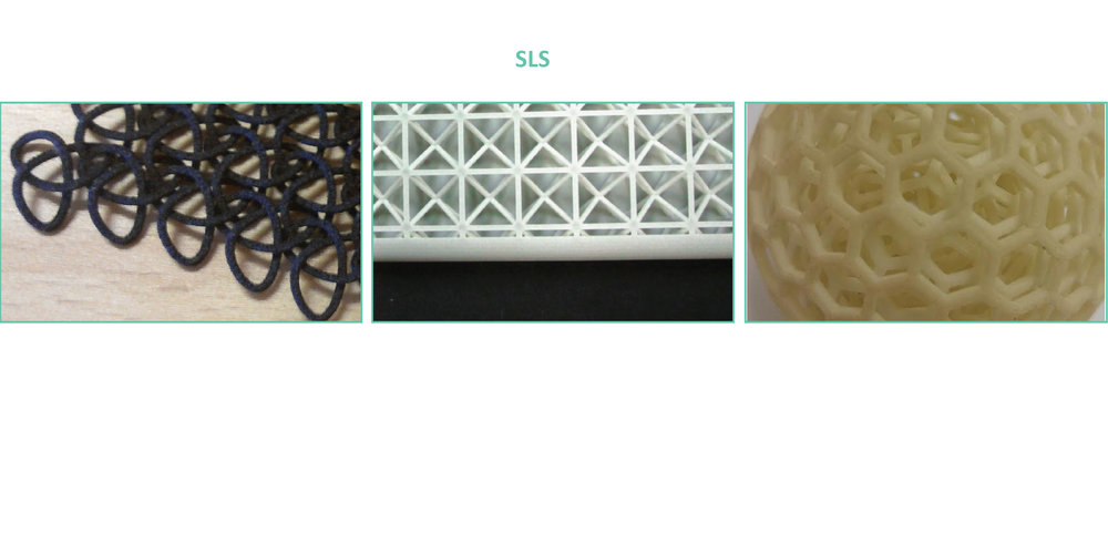 Selective laser Sintering SLS nylon composites glass aluminum carbon