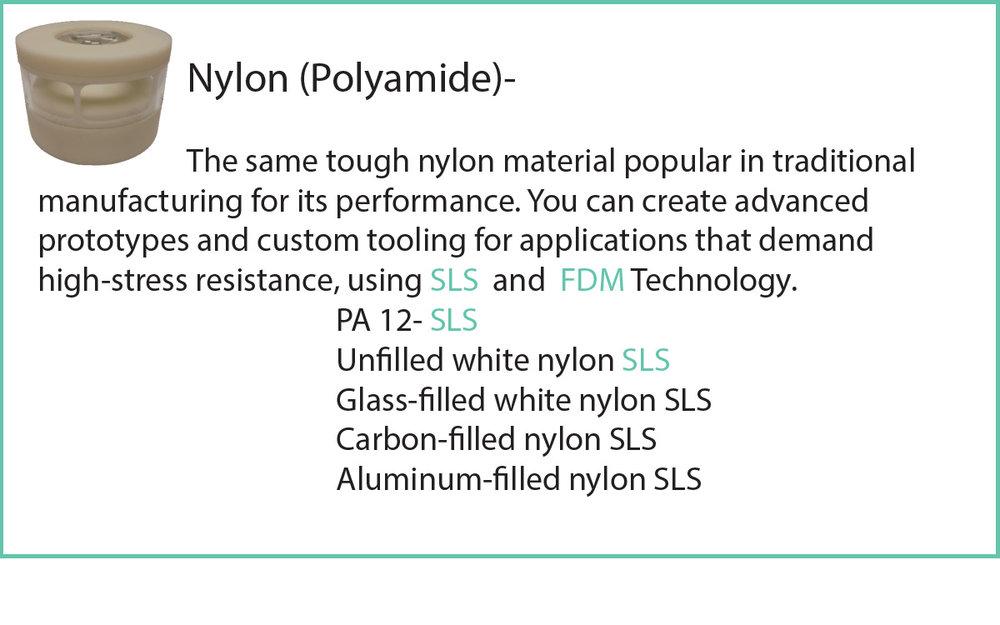Selective Laser Sintering (SLS) or Fused Deposition Modeling (FDM)