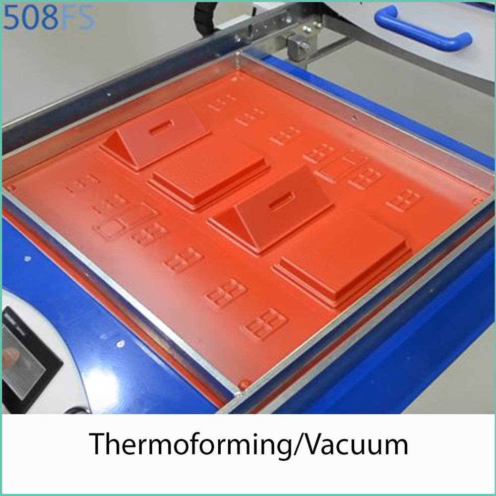thermoforming and vacuum forming