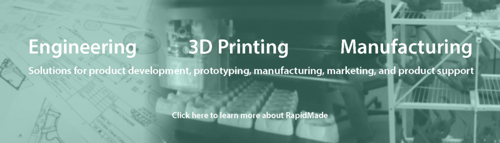 Engineering. 3D Printing. Manufacturing.