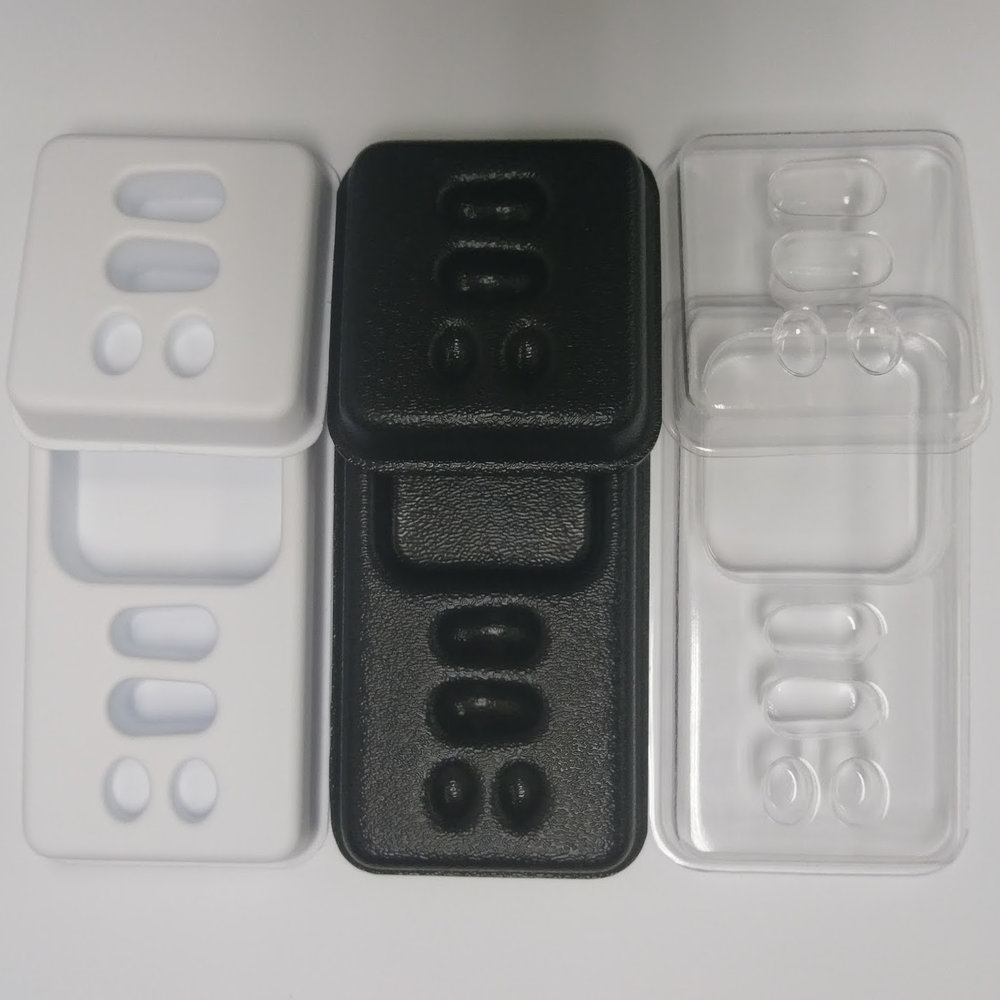 thermoforming vacuum forming materials abs petg styrene