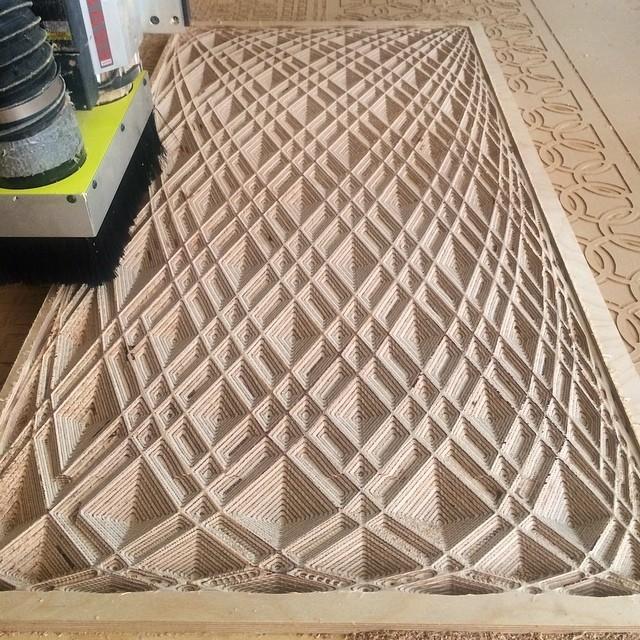 cnc routing plastic wood aluminum