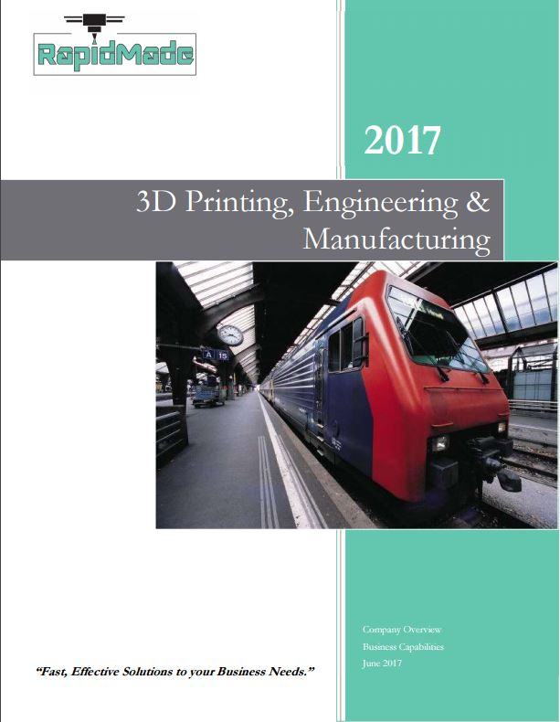 RapidMade Company Brochure 3D Printing, Engineering & Manufacturing