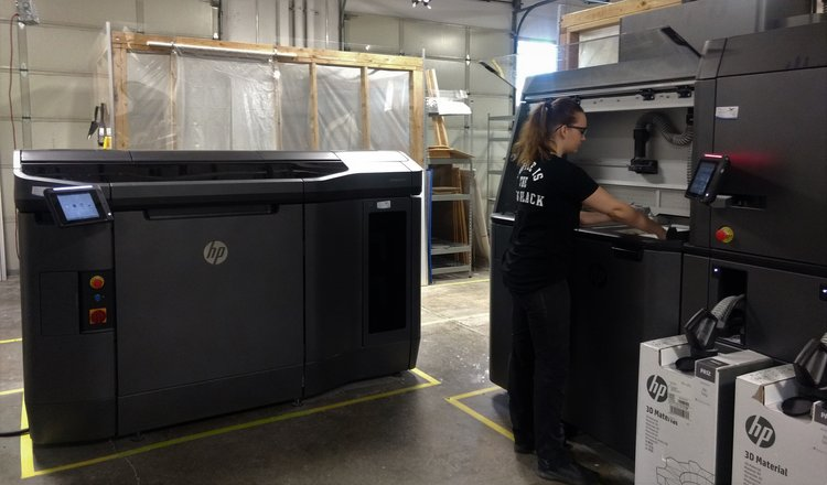 RapidMade's HP Jet Fusion in action