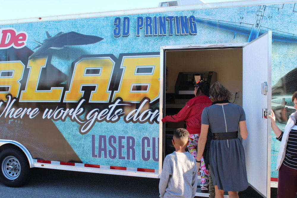 NAWCAD's FabLab will be open to visitors at Technology and Arts Expo (DCmilitary.com - photo credit)