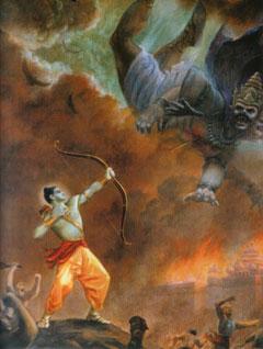Ram destroys Ravan.jpg
