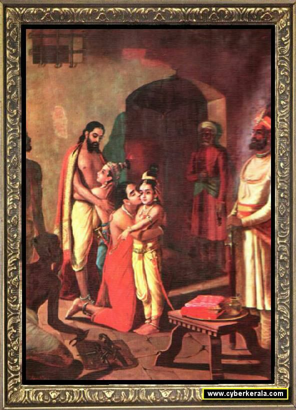 Krishna and Balarama freeing Parents.jpg