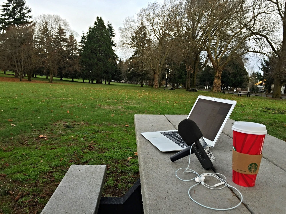 Podcasting Station @ Fort Vancouver