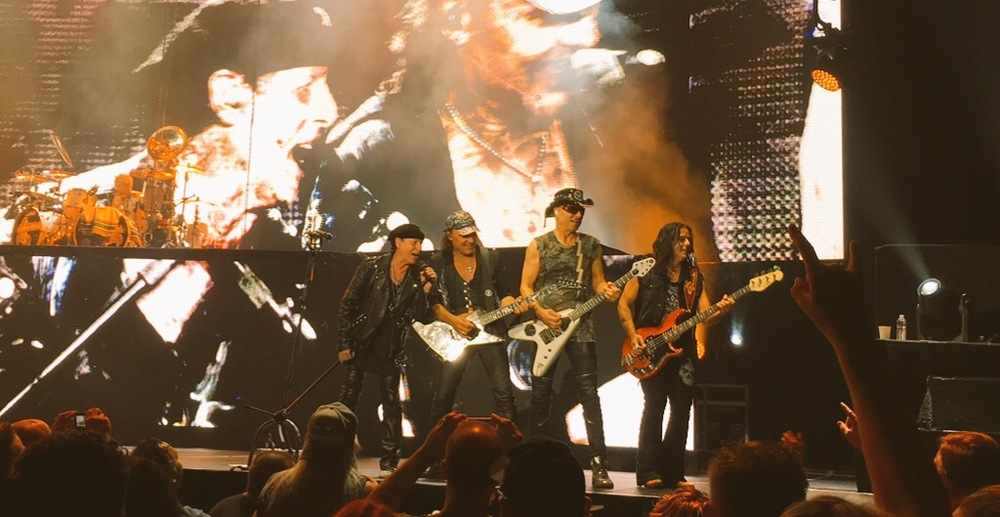 Scorpions in Seattle, WA — Oct 9, 2015