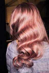 Ash Brown Pink Hair Ash Brown