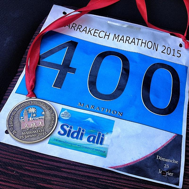 Marrakech Marathon 2015