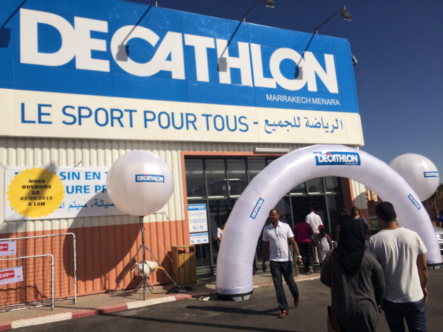 a9e4f78bb Decathlon Marrakech is Now Open — Running in Morocco