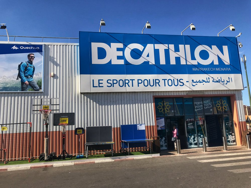 Decathlon in Marrakech