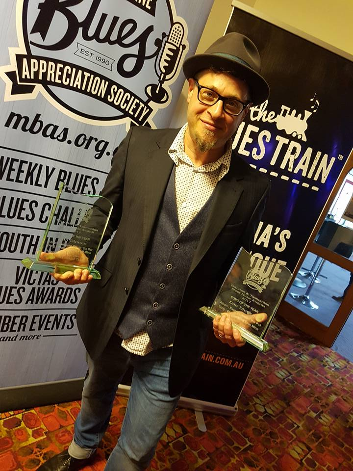 2017 Artist of The Year & Song of The Year - MBAS Vic/Tas Blues Music Awards