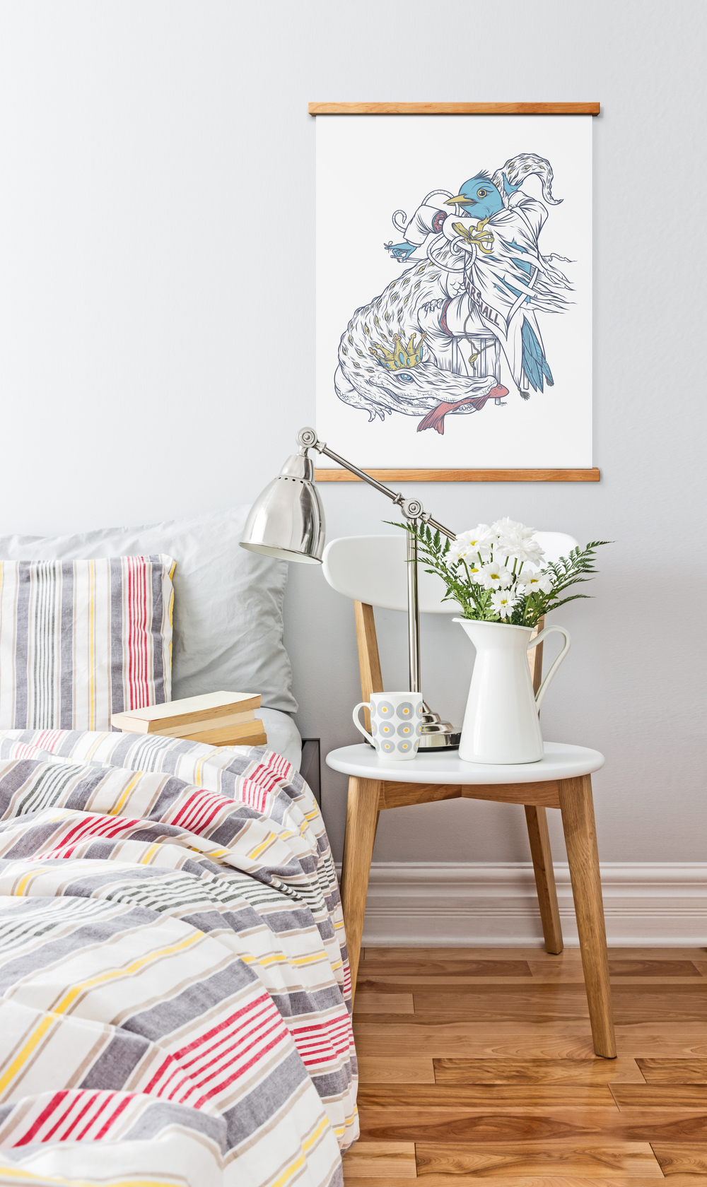 Scandinavian Bedside