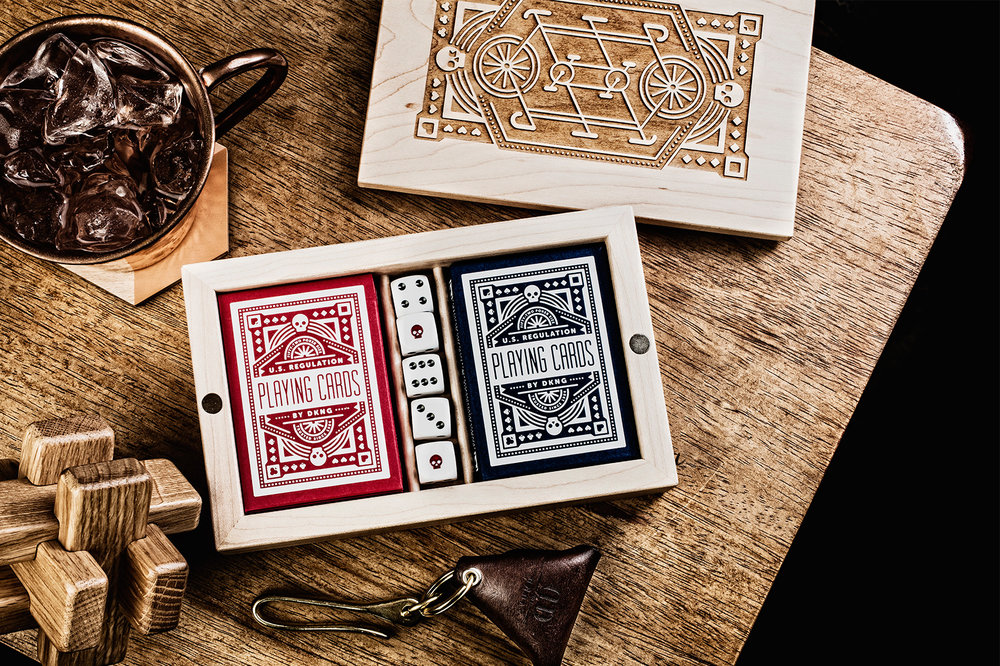 DKNG & Art of Play Card Boxes