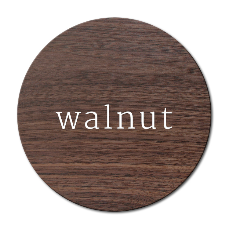 Solid walnut wood