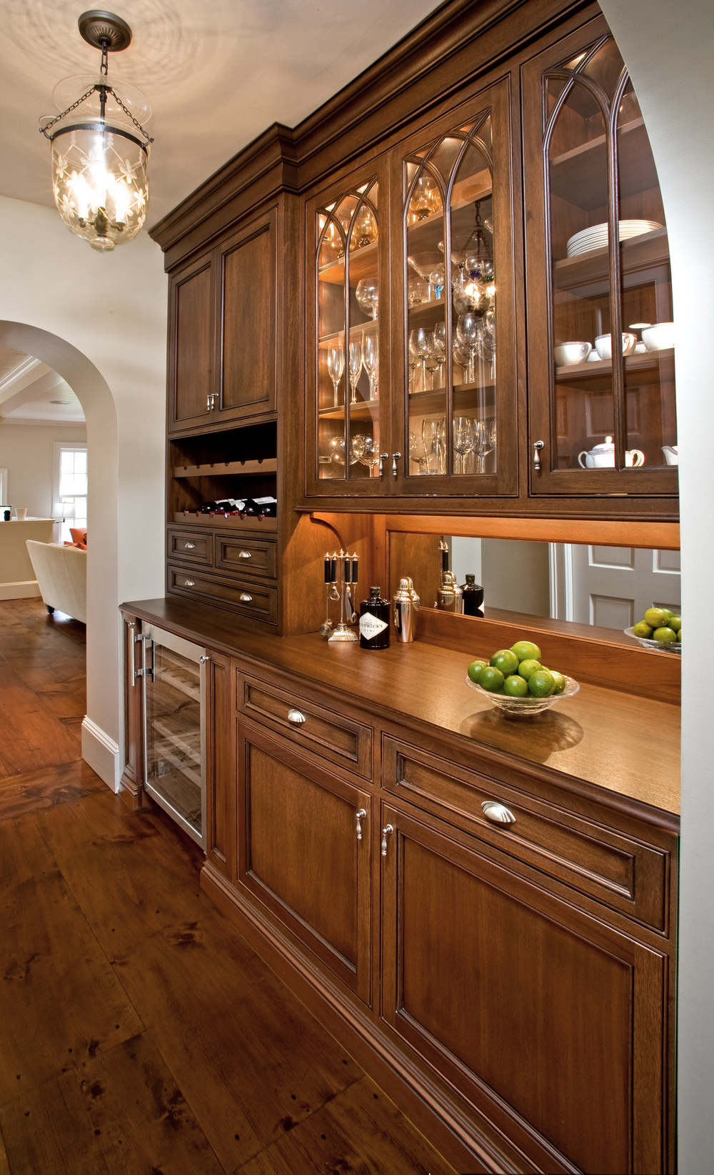 Fabulous Kitchen Wet Bars — Village Handcrafted Cabinetry