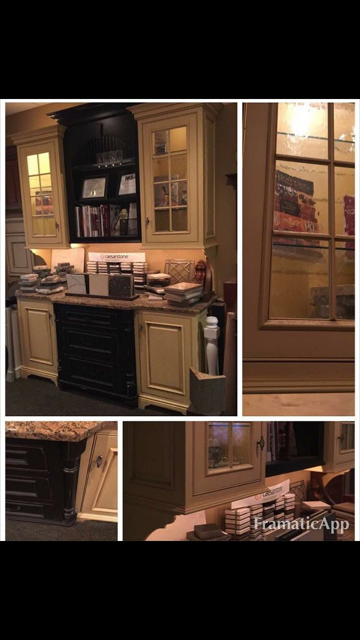 "Custom Hutch - $1,500        77""W x 104"" H x 26""Deep"