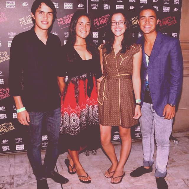 Walking the red carpet with these lovelys at Music Oz 4 years ago. Time flys. That night @melissaottomusic battled  #theottobrothers  and conquered in the gospel category. Lucky our tribal family still received the benefits.. I always knew I got the black gene.