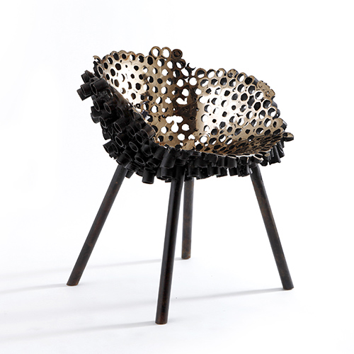 Meltdown Chair: Bronze #1