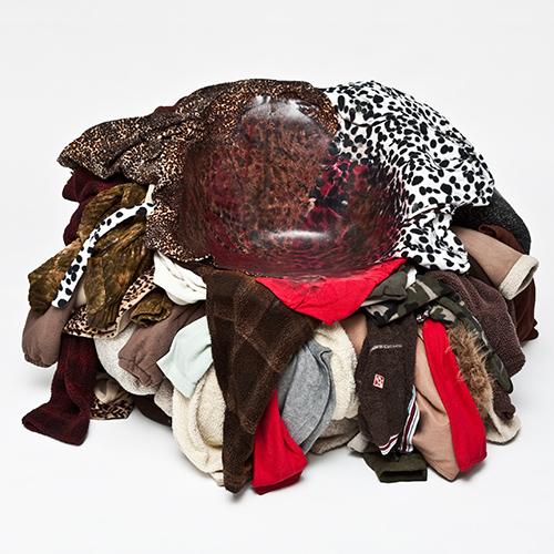 Meltdown Chair: Fleece Fur