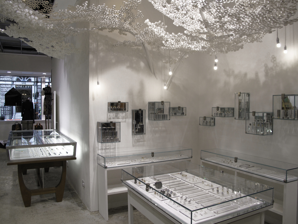 Tom Price PP Tree Dover Street Market 10th Anniversary-Ground Floor Jewellery Space featuring installation by Tom Price titled 'PP Tree'.4.jpg