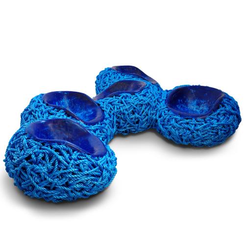 Meltdown Bench: PP Rope Blue