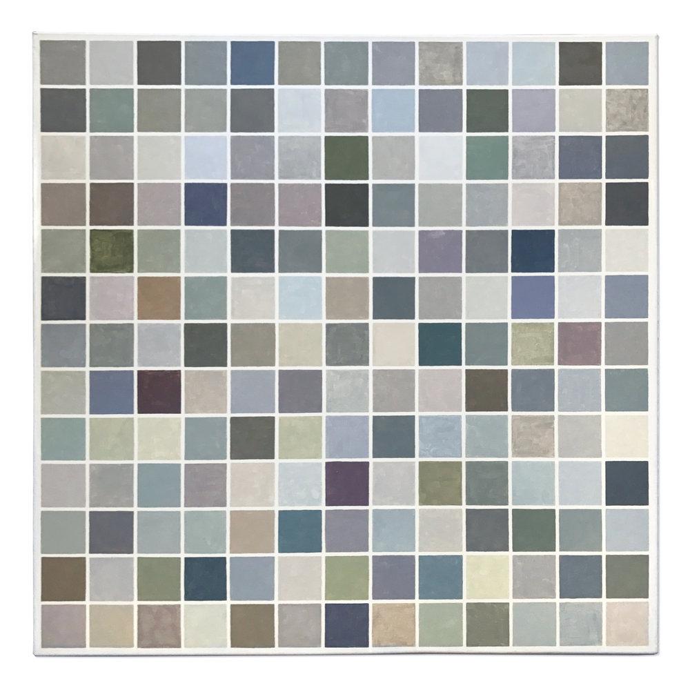 169 squares 169 colors