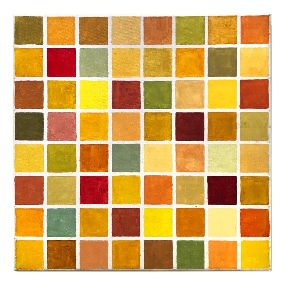 64 squares 64 colors