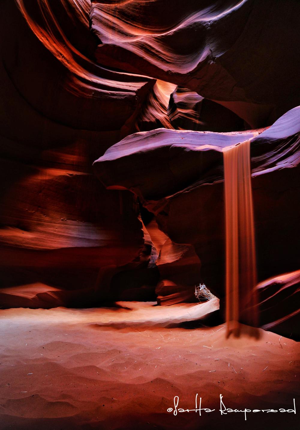 Antelope Canyon Sand Spill.jpg