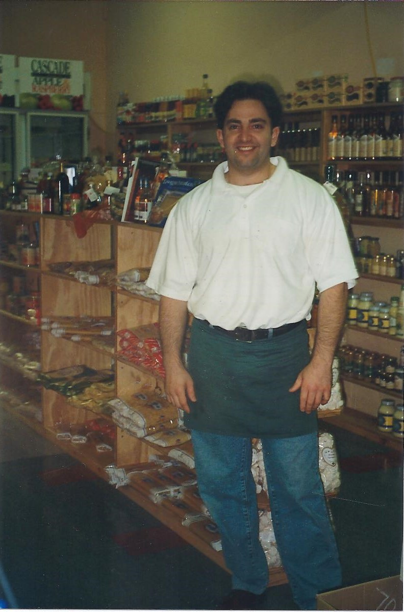 Perry Nicholas back in the Gourmet Terrace Deli days circa 1993
