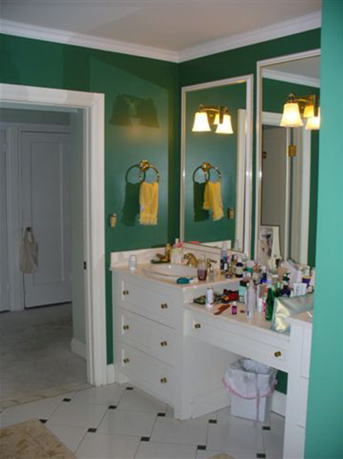 Casey Design|Planning Group Inc. large interior design project (before).
