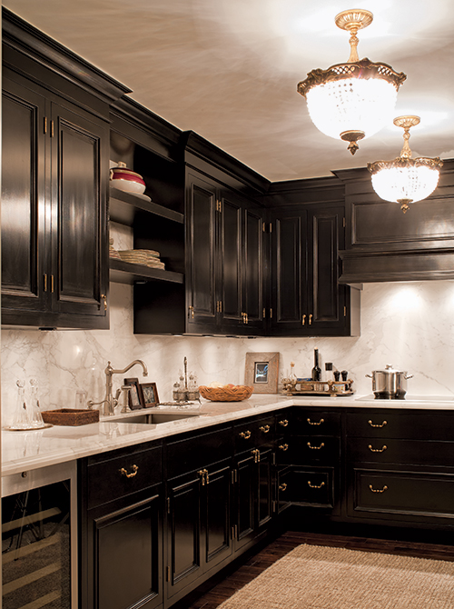 Casey Design|Planning Group Inc. traditional (French) large interior design project (after).