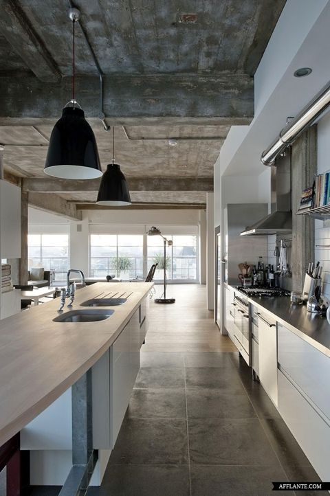 Former Factory Loft In London doesn't get better than this! ( Afflante )