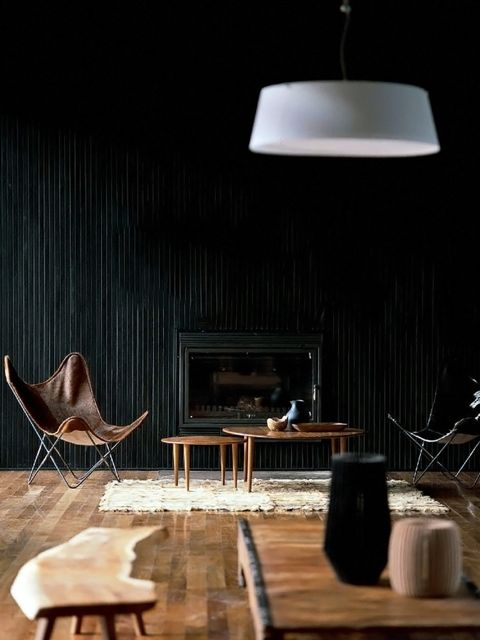 Are these black silk pleated walls? If so, I want them. ( Ark Pad )