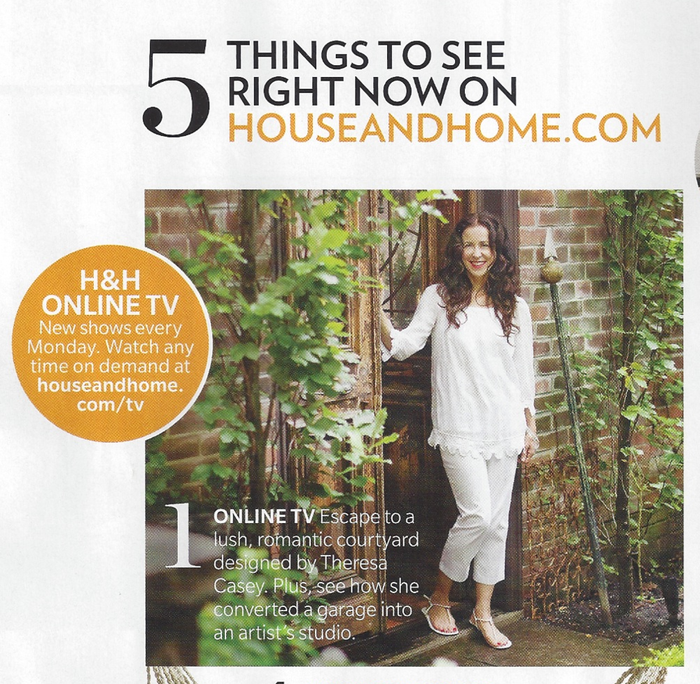 Look for my featured urban garden at H&H Online TV this August!