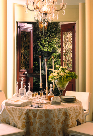 Classic serveware can be transformed in a multitude of ways. (Casey Design/Planning Group Inc. for  Canada Blooms )