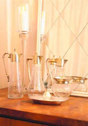 Timeless shapes in glass and serveware can last a lifetime. (Casey Design/Planning Group Inc. for  Canada Blooms )