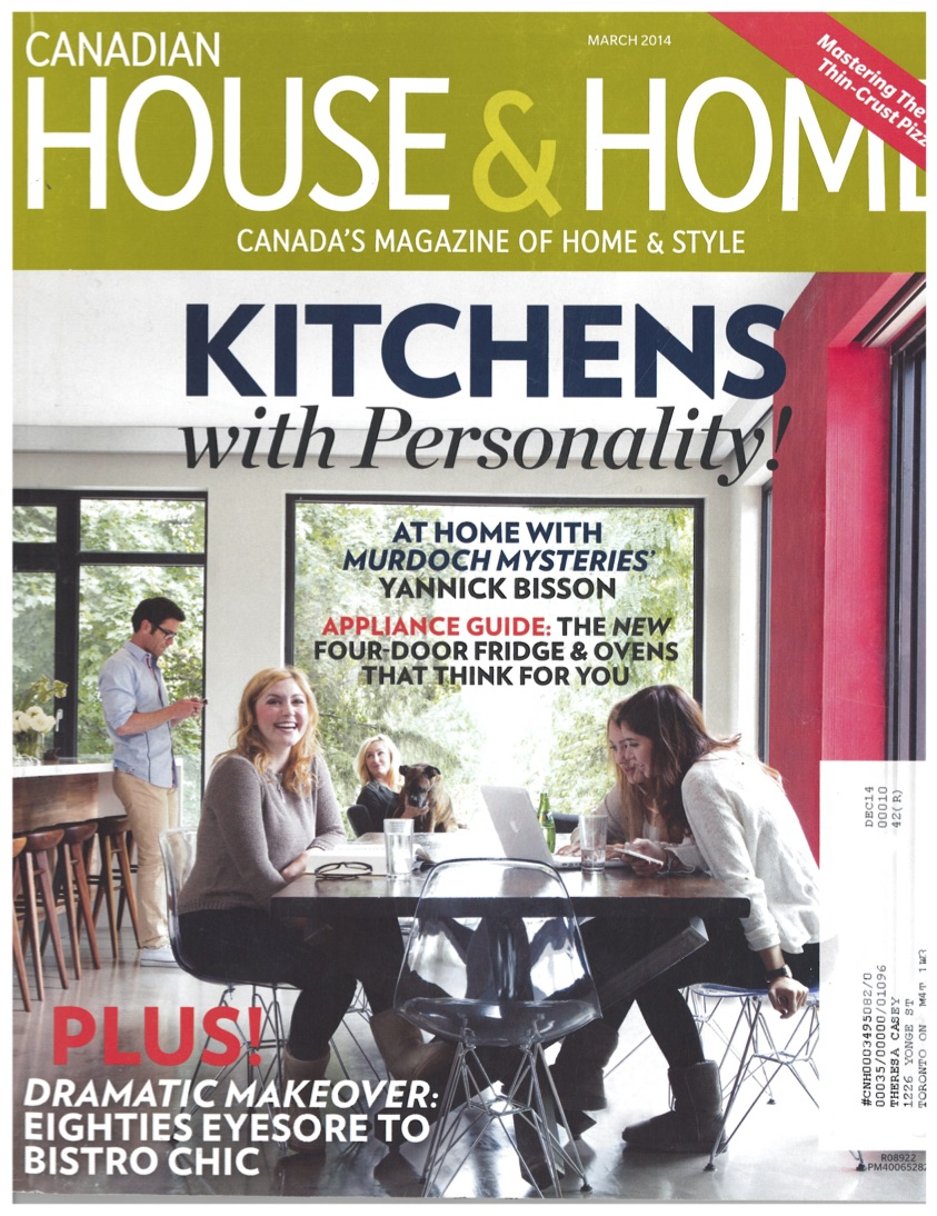 """Timeless Chic""                                                                  House & Home, March 2014"