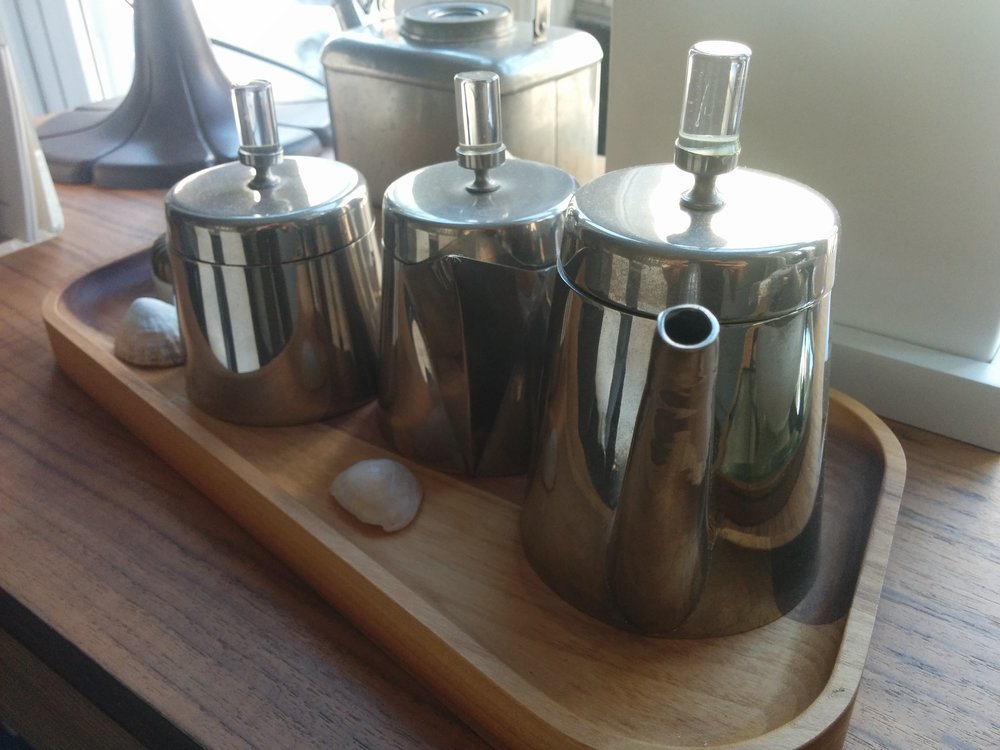 A Deco era tea pot set.