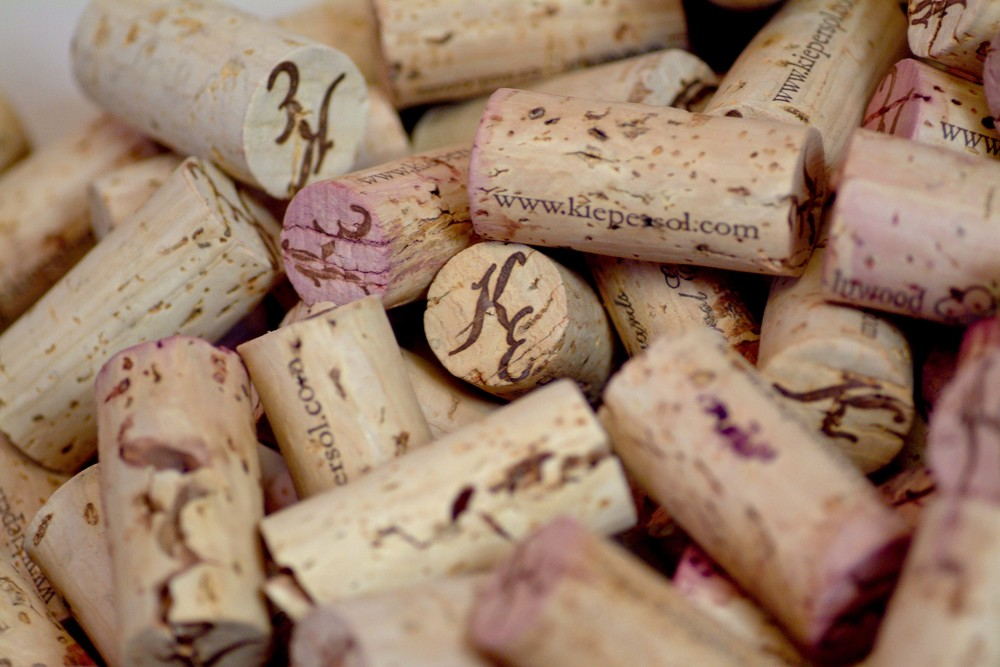 KE Corks have Special Sayings on Them