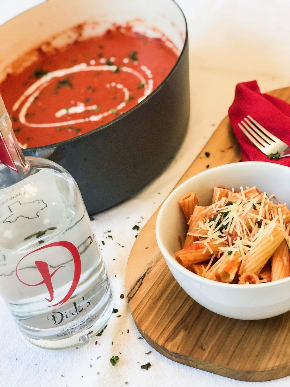 Dirk's Vodka Pasta Sauce