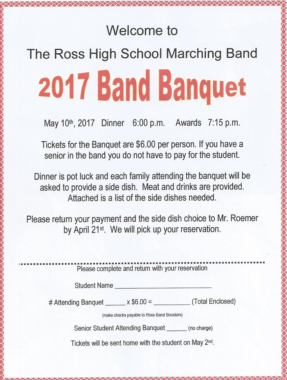 Ross Band of Class